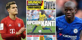 Barcelona-poderá-trocar-Philippe-Coutinho-por-N'Golo-Kanté-do-Chelsea