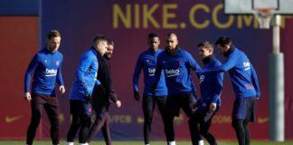 Com-Dembélé-de volta-Barcelona-divulga-sua-lista-de-convocados