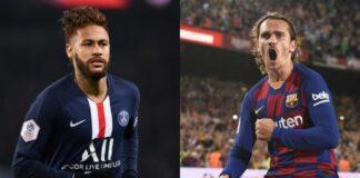 Barcelona-Griezmann-poderá-participar-de-uma-troca-por-Neymar