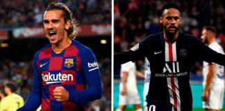 Barcelona-Griezmann-não-conseguiu-igualar-os-números-da-primeira-temporada-de-Neymar