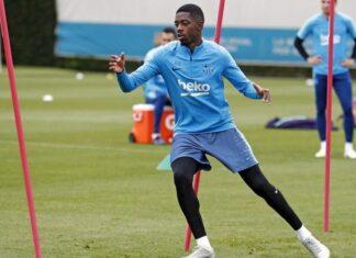 Dembélé-intensifica-recuperação-de-lesão-no-campo-de-treinamento-do-Barcelona