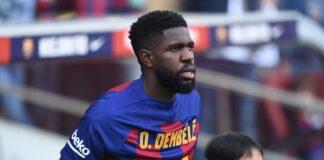 Barcelona-deseja-negociar-Samuel-Umtiti-com-a-Roma